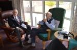 Bill Robertson and John Evans
